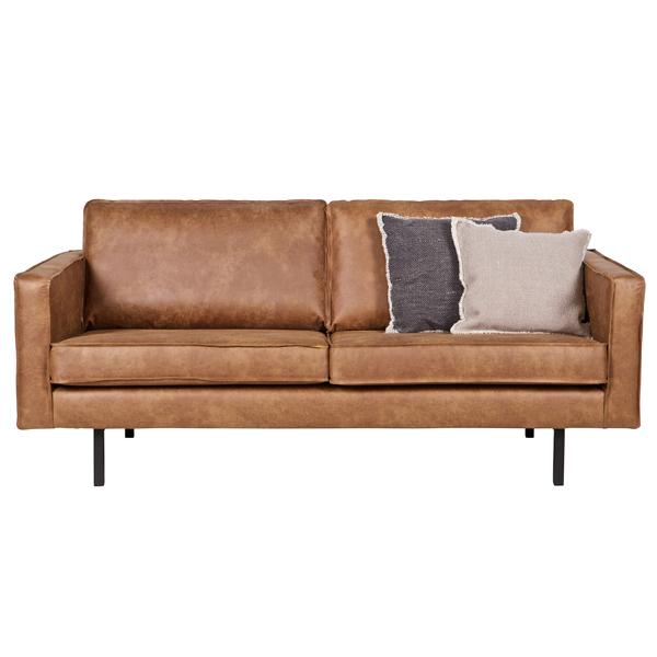 2 5 sitzer sofa rodeo echtleder leder lounge couch garnitur cognac new maison esto ihr. Black Bedroom Furniture Sets. Home Design Ideas