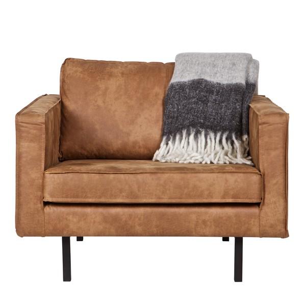 sessel sofa rodeo echtleder leder lounge couch armsessel cognac new maison esto ihr. Black Bedroom Furniture Sets. Home Design Ideas