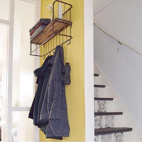 h ngeregal giro k chenregal metall schwarz new maison esto ihr gro er m bel online shop. Black Bedroom Furniture Sets. Home Design Ideas