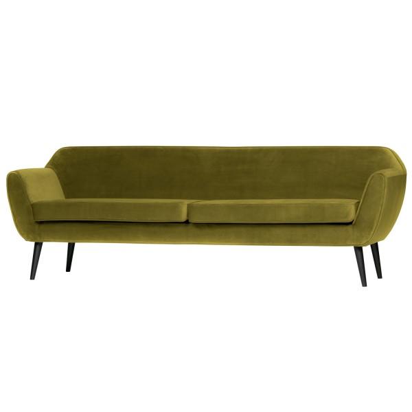 woood 4 Sitzer Sofa Rocco olive B 230 cm