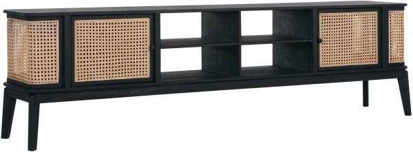 MUST Living Rattan TV Board Lowboard BOHEME Raffles 213 cm