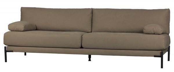vtwonen 3 Sitzer Sofa Sleeve braun grün Couch
