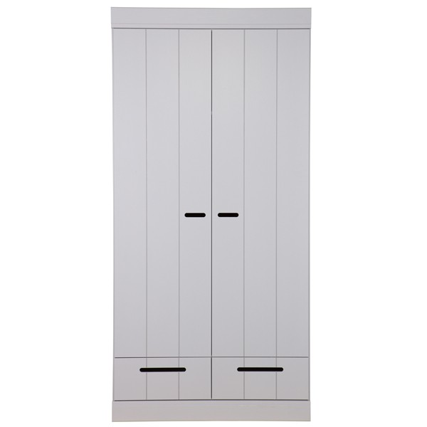 Kleiderschrank System CONNECT BASIC Kiefer grau