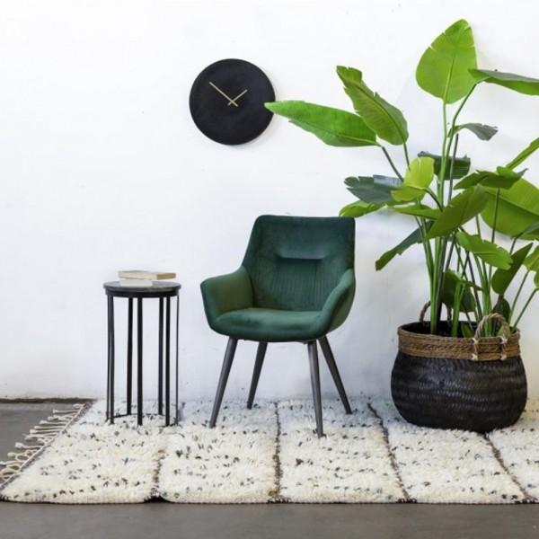 Esszimmer Stuhl John Samt grün