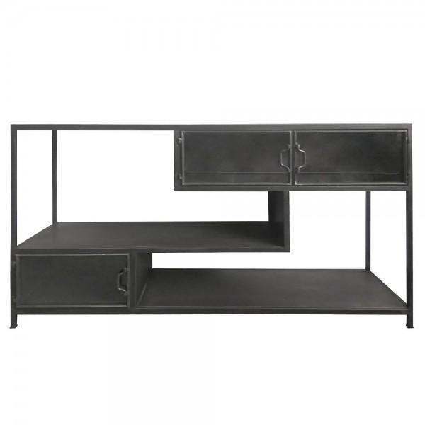TV Lowboard Möbel Tuck 140 cm Metall Regal