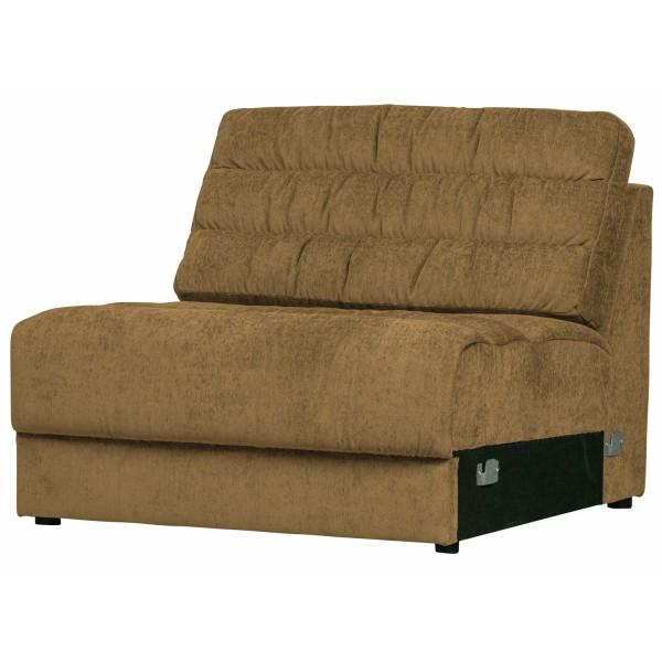 Zusatzelement für 2, 3, 4 Sitzer und Ecksofa Sofa Date vintage goldfarben Couch