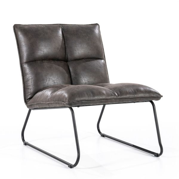 Lounge Chair Sessel Ruby anthrazit