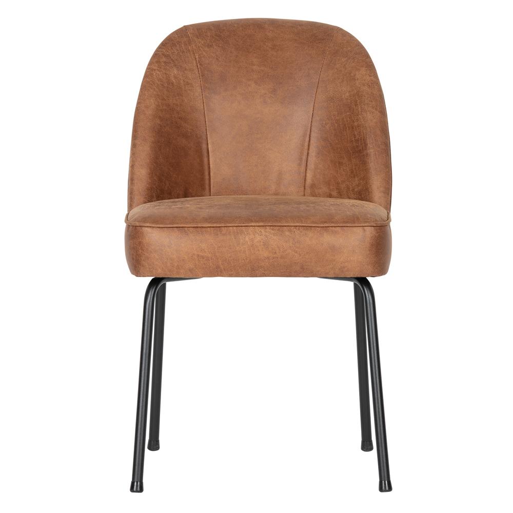 2er Set Esszimmerstuhl Vogue Leder Cognac Stuhl