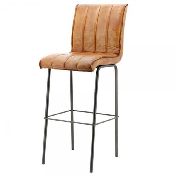 barstuhl marvin cognac barhocker bar hocker stuhl bezug. Black Bedroom Furniture Sets. Home Design Ideas