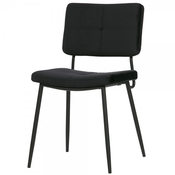2er Set Esszimmerstuhl KAAT Samt Vierfußstuhl Küchenstuhl Polsterstuhl Stuhl …