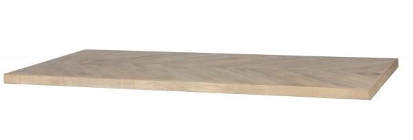 woood Tischplatte Tablo Mango 180 x 90 cm