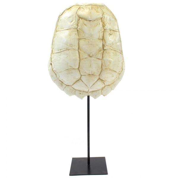 Vintage Deko Skulptur Tischdeko Katana XL weiß Standfigur Figur Objekt