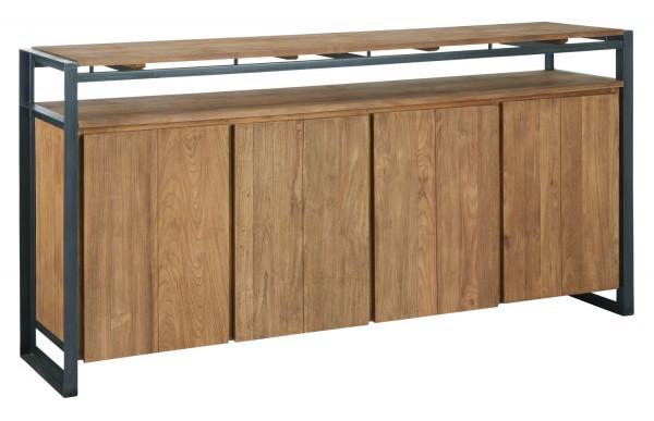 d-Bodhi Sideboard Fendy B 200 cm Schrank Holz Teakholz
