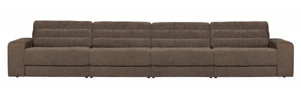 BePureHome 4 Sitzer Sofa Date vintage warmgrau Couch