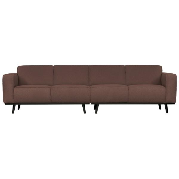 4 Sitzer Sofa STATEMENT Bouclé coffee Couch Garnitur Couchgarnitur
