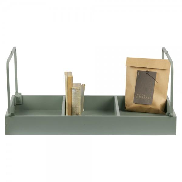 Aufbewahrungsbox JORT 70 x 40 cm MDF jadegrün Mehrzweckboxen Aufbewahrungskiste