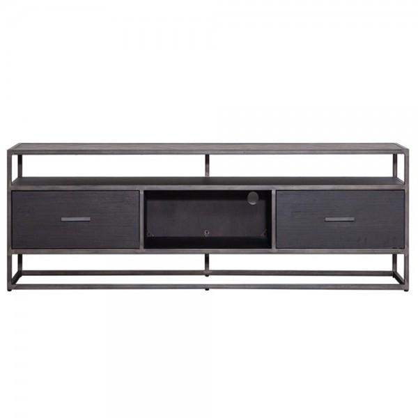 TV Möbel Lowboard Hudson 150 cm Akazie schwarz