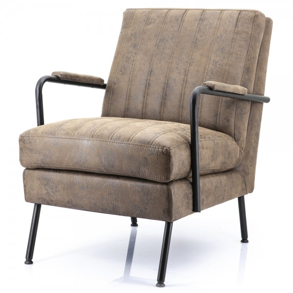 Lounge Chair Tilo Cherokee braun Sessel