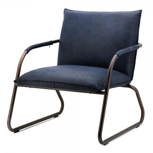 Armlehnsessel STEVE blau Sessel Relaxsessel Loungesessel Clubsessel Fernsehsessel …