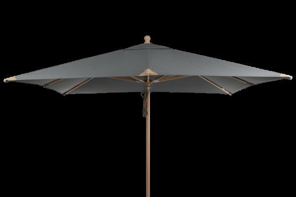 Sonnenschirm Como Parasol Ø 300 cm grau Terrassenschirm Schirm