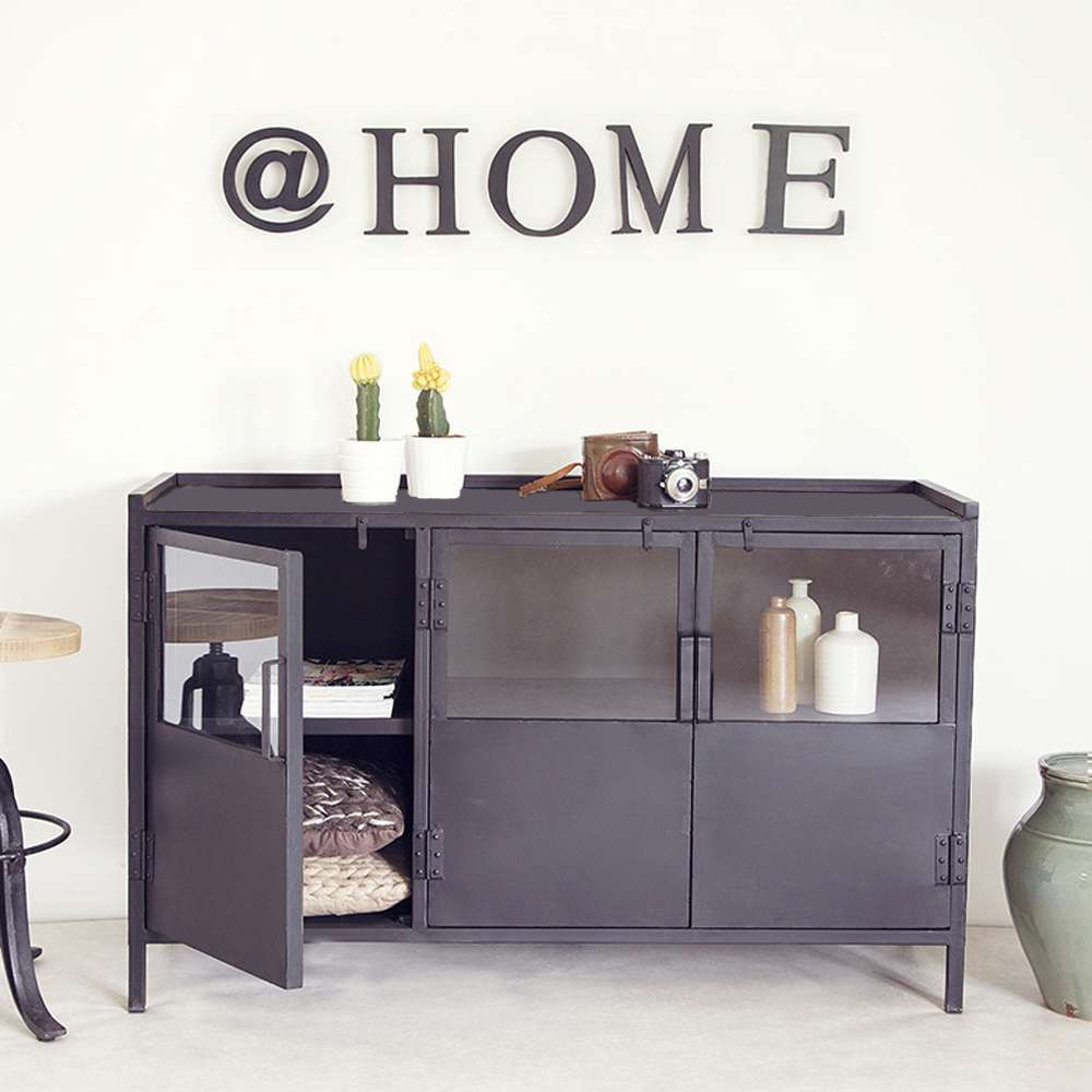 industrie design kommode aufbewahrungsschrank sideboard. Black Bedroom Furniture Sets. Home Design Ideas