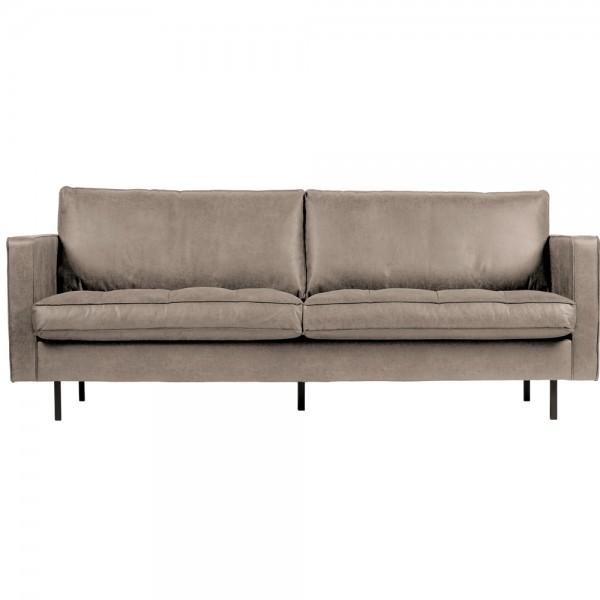 2,5 Sitzer Sofa Rodeo Classic Elefantenhaut grau Couch Loungesofa Couchgarnitur
