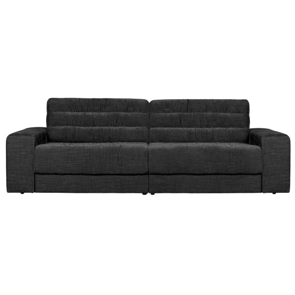 BePureHome 2 Sitzer Sofa Date 226 cm vintage Samt anthrazit Couch