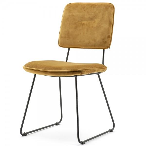 2er Set Esszimmer Stuhl Whip Küchenstuhl Esszimmerstuhl Kufenstuhl Dinnerstuhl