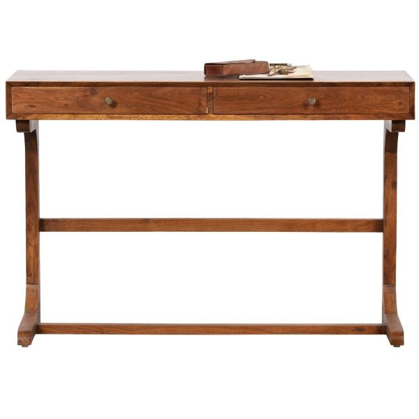 BePureHome Schreibtisch Old school 116 cm Akazienholz