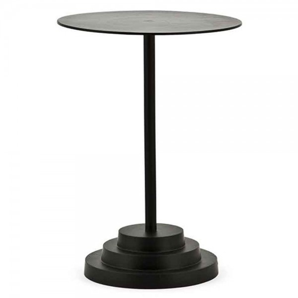 Beistelltisch Anstelltisch Hornett Ø 40 cm Tisch Kaffeetisch Metall schwarz