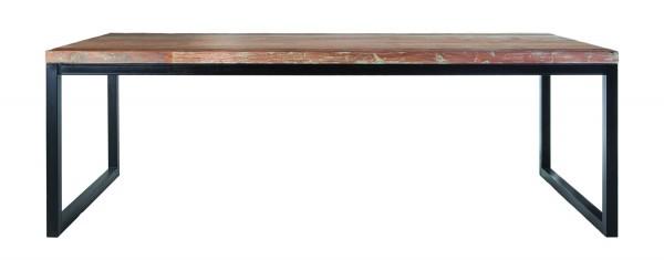 Vintage Esstisch Java 240 x 100 Tischplatte aus Teakholz