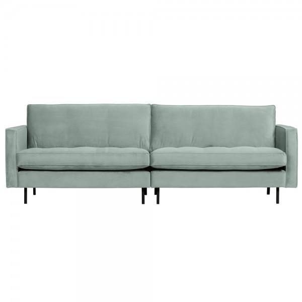 3 Sitzer Sofa Rodeo Samt Velvet mint Couch Garnitur Couchgarnitur