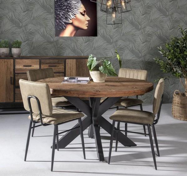 Esstisch Dakota Ø 150 cm rund Tisch Esszimmertisch