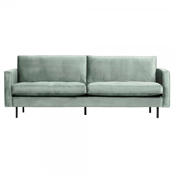 2,5 Sitzer Sofa Rodeo Classic Samt mint Couch Loungesofa Couchgarnitur