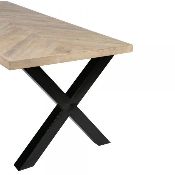 Tischplatte Tablo Mango 180 x 90 cm