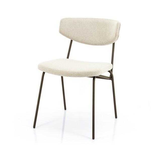 2er Set Esstischstuhl Cockett taupe Stuhl Küchenstuhl