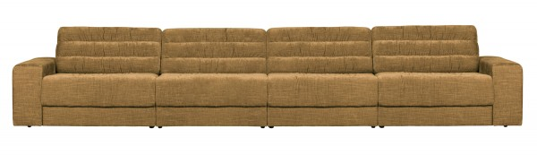 BePureHome 4 Sitzer Sofa Date vintage goldfarben Couch
