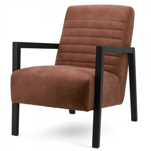 Armlehnsessel LARS Bezug Cherokee cognac Relaxsessel Fernsehsessel Lounge Sessel