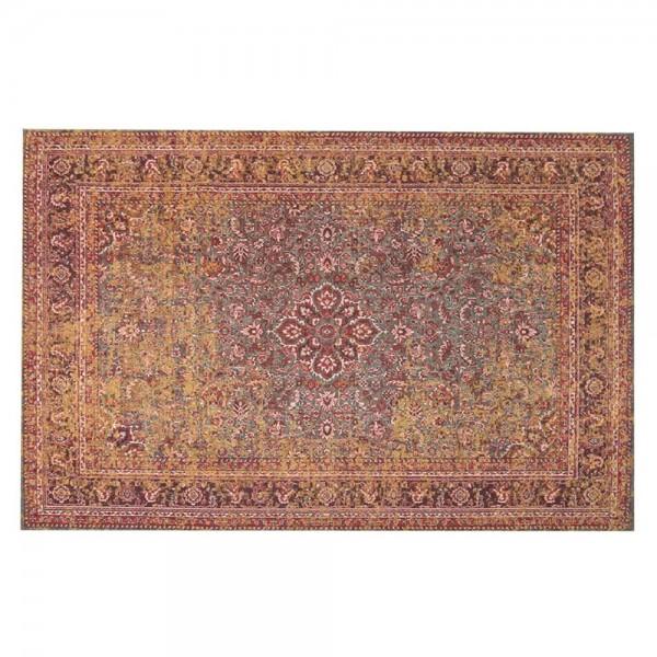 Wohnzimmer Vintage Teppich Catrin Carpet Teppiche Landhausteppich Baumwolle