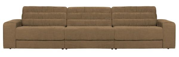 BePureHome 3 Sitzer Sofa Date vintage sandfarben Couch