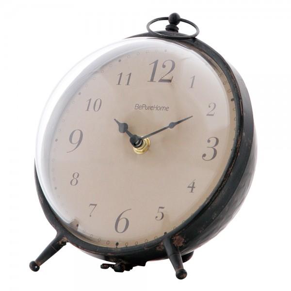 BePureHome Vintage Kaminuhr Uhr Babbel Tischuhr