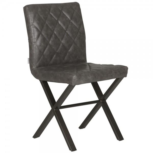Esszimmer Stuhl ALABAMA Leder Küchenstuhl Esszimmerstuhl Dinnerstuhl Esstisch
