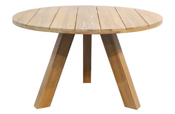 Esstisch Abby Ø 129 cm Akazie Dinnertisch Tisch Esszimmertisch