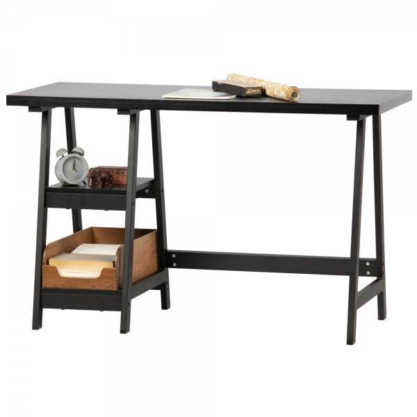Schreibtisch Duco MDF schwarz