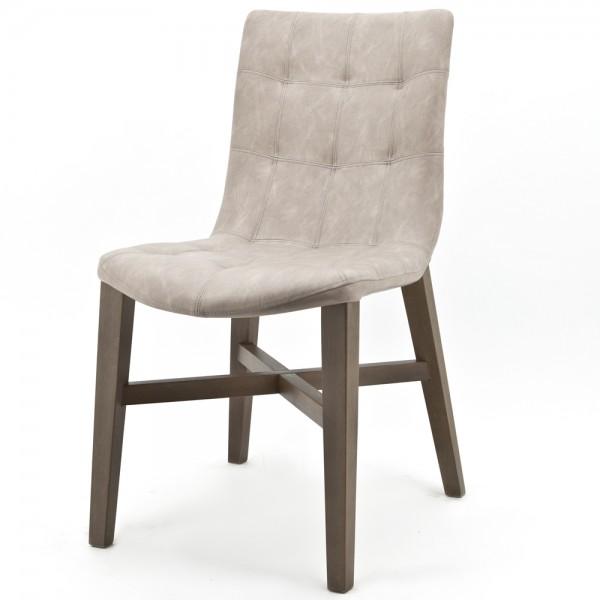 Vintage Stuhl NEBA Sand Polsterstuhl Sessel Esszimmer Esszimmerstuhl  Dinnerstuhl