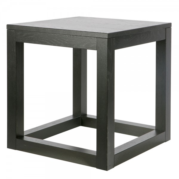 Beistelltisch WOUT 45 x 45 cm Eiche blacknight Kaffeetisch Anstelltisch Tisch
