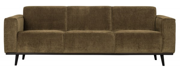 BePureHome 3 Sitzer Sofa Statement Rib Cord rock Couch
