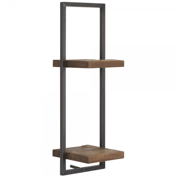 SHELFMATE Wandregal Typ D Shelfmate 25 cm Teakholz Regal