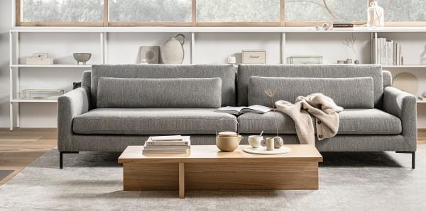 vtwonen 4 Sitzer Sofa Hang out bouclé grau Couch