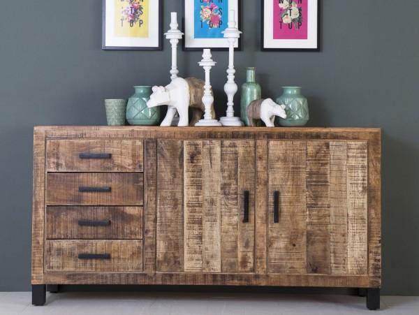 Vintage Sideboard Kommode Ventura Mango Holz